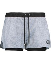 Monreal London - Hero Layered Stretch-knit Shorts - Lyst