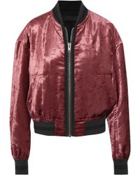 Haider Ackermann - Casual Jackets Burgundy - Lyst