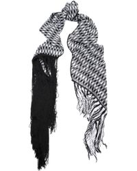Missoni - Fringe-trimmed Knitted Scarf - Lyst