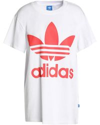 adidas Originals - Cotton-jersey T-shirt White - Lyst