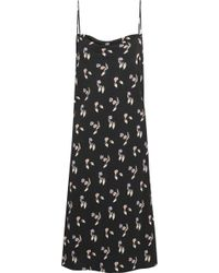 Opening Ceremony - Printed Crepe Dress - Lyst