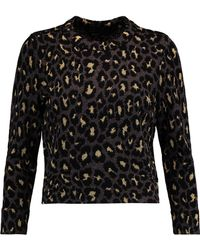 Marc By Marc Jacobs - Metallic Jacquard-knit Wool-blend Jumper - Lyst
