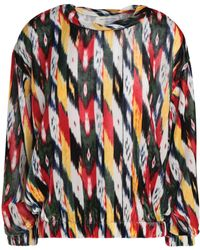 Étoile Isabel Marant - Woman Printed Chenille Top Yellow - Lyst