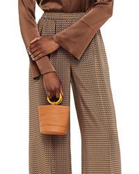 Simon Miller Bonsai Textured-leather Bucket Bag - Brown