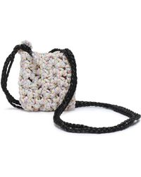 Missoni Marled Crochet-knit Coin Purse Pastel Pink