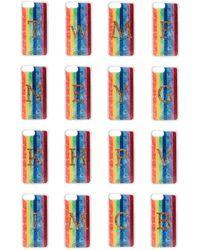 Edie Parker + Goo.ey Rainbow Bedruckte Iphone 6 Und 7 Plus-hülle Aus Plastik Größe W - Multicolor