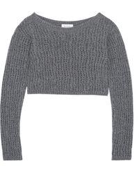 Isa Arfen - Pointelle-knit Wool Top - Lyst