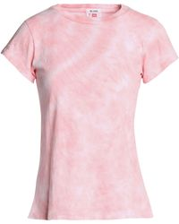 Levi's - Tie-dye Cotton-jersey T-shirt Pastel Pink - Lyst