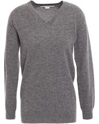 Stella McCartney Wool And Alpaca-blend Jumper - Grey