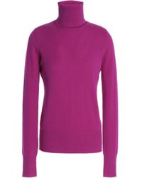 Chalayan - Cutout Cashmere Turtleneck Jumper - Lyst