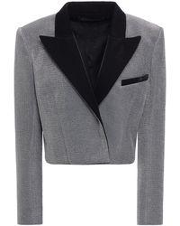 Balmain Jacke aus lamé - Mettallic