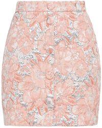 Hofmann Copenhagen Jasmine Metallic Brocade Mini Skirt