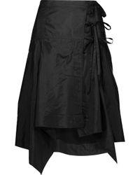 Isabel Marant - Kerena Asymmetric Shell Wrap Skirt - Lyst