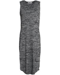 Rag & Bone - Cutout Marled Jersey Dress - Lyst