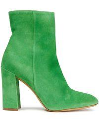 Mansur Gavriel Sur Gavriel Suede Ankle Boots - Green