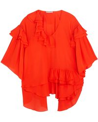 Emilio Pucci - Short Sleeved Tomato Red - Lyst