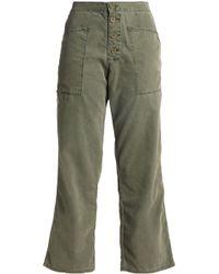 RTA - Cotton-blend Straight-leg Pants - Lyst