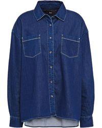 3x1 Denim Shirt Dark Denim - Blue