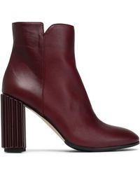 Iris & Ink - Kayla Leather Ankle Boots - Lyst
