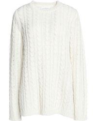 Velvet By Graham & Spencer - Cable-knit Jumper - Lyst