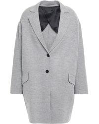 JOSEPH - Sido Wool And Cashmere-blend Felt Coat Gray - Lyst