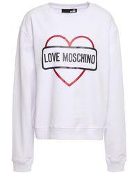 Love Moschino Women's Jumper - White