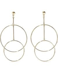 Kenneth Jay Lane Gold-tone Earrings Gold - Metallic