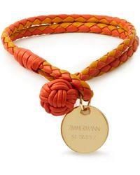 Zimmermann Armband aus leder - Orange
