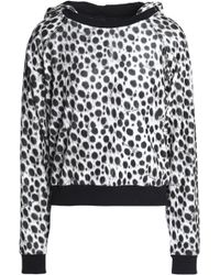 Just Cavalli - Leopard-print Chenille Hooded Jacket - Lyst