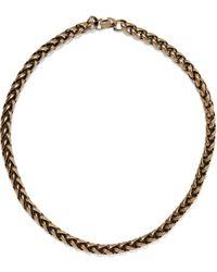 Zimmermann Burnished Gold-tone Necklace Brass - Metallic