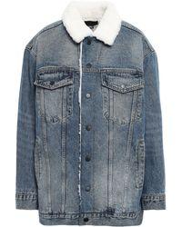 Alexander Wang Denim Jacket Mid Denim - Blue
