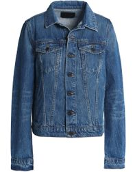 c27cd8756ac7e9 Proenza Schouler - Woman Denim Jacket Mid Denim - Lyst