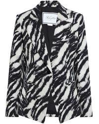 Redemption Metallic Cotton-blend Jacquard Jacket