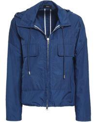 Theory Shell Jacket Blue