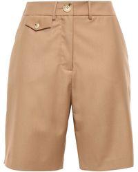Anna Quan Twill Shorts Light Brown