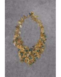 Rosantica Gold-tone Beaded Necklace Gold - Metallic
