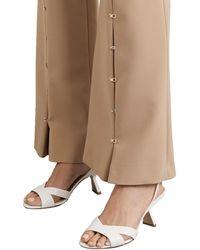 Nicholas Kirkwood Lexi Croc-effect Leather Slingback Sandals - White