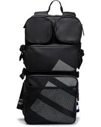 adidas Originals - Mesh-paneled Printed Twill Backpack - Lyst