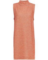 Rodebjer Aili Metallic Ribbed-knit Mini Dress - Multicolour