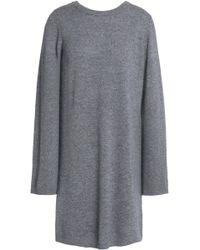 Equipment - Mélange Cashmere Mini Dress - Lyst