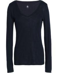 Petit Bateau - Marled Cotton-jersey Top - Lyst