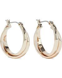 Shashi Vera 18-karat Gold-plated Hoop Earrings Gold - Metallic