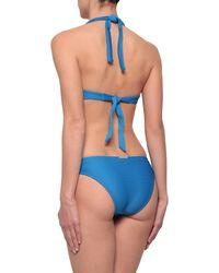 Heidi Klein Ribbed Low-rise Bikini Briefs - Blue