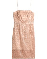 MILLY - Laci Embellished Tulle Dress - Lyst
