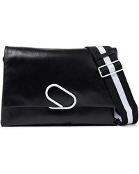 3.1 Phillip Lim Alix Leather Shoulder Bag Black
