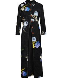 Acne Studios - Okki Floral-print Cotton-corduroy Jacket - Lyst
