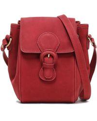 Zimmermann Leather Shoulder Bag Brick - Red