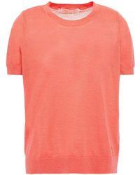 MICHAEL Michael Kors Wool-blend Top - Pink