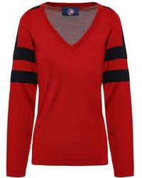 Fusalp Merino Wool-blend Jumper - Red
