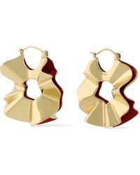 Ellery Beton Gold-tone Earrings Gold - Metallic